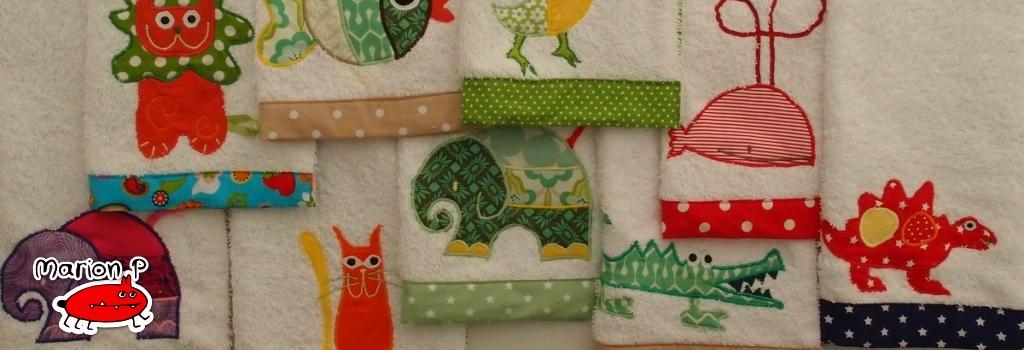 Handtuch Kindergartenhandtuch asciugamano - MarionP Kinderaccessoires accessori bimbi