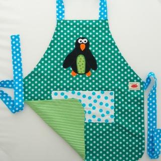 Schürze Kinderschürze Kindergartenschürze grembiule abbigliamento bambini Pinguin pinguino penguin - MarionP -  Kinderaccessoires Kindersachen Südtirol
