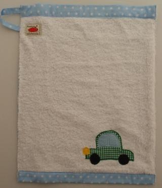 Handtuch Kindergartenhandtuch asciugamano Auto automobile macchina car - MarionP Kinderaccessoires accessori bimbi