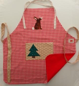 Schürze Kinderschürze Kindergartenschürze grembiule abbigliamento bambini apron Hase coniglio rabbit - MarionP -  Kinderaccessoires Kindersachen Südtirol