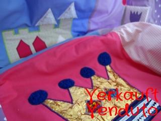 Krabbeldecke Spieldecke Kinderdecke Babydecke Kuscheldecke Prinzessin I trapunta per gattonare trapunta carponi trapunta gattoni trapunta bimbo Prinzessin I - MarionP