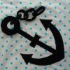 Krabbeldecke Spieldecke Kinderdecke Babydecke Kuscheldecke Segeln Segelboot Steuerrad Anker Leuchtturm Segelboot trapunta per gattonare trapunta carponi trapunta gattoni trapunta bimbo vela barca a vela timone faro ancora - MarionP