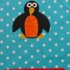 Schürze Kinderschürze Kindergartenschürze grembiule abbigliamento bambiniPinguin pinguino penguin  - MarionP - Marion Pramstrahler Giacomuzzi Kinderaccessoires Kindersachen Südtirol